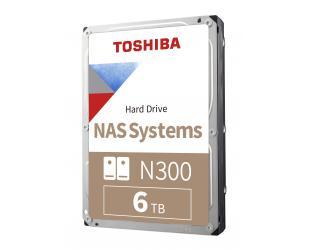 Standusis diskas Toshiba Hard Drive N300 NAS 7200 RPM, 6000 GB, 256 MB