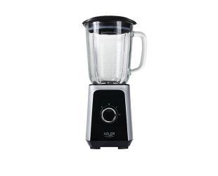 Kokteilinė Adler Blender AD 4076 Tabletop, 1000 W, Jar material Glass, Jar capacity 1.5 L, Ice crushing, Black
