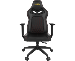 Žaidimų kėdė Gamdias Gaming Chair, Achilles E3 L, Black/Red