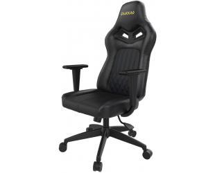 Žaidimų kėdė Gamdias Gaming Chair, ACHILLES E3 L, Black/Blue