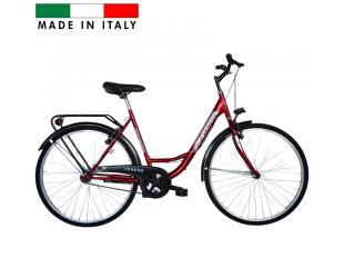 "Dviratis FREJUS Olanda Venere Lady Bike, Wheel size 26 "", Warranty 24 month(s), Red"
