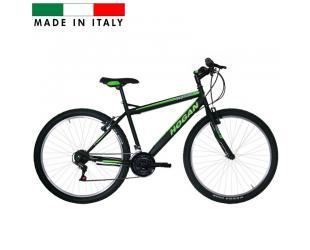 "Dviratis HOGAN MTB Man Bike, Mountain Bike, Wheel size 27.5 "", Warranty 24 month(s), Black with green"