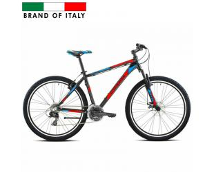 "Dviratis ESPERIA Men's Mountain Bike 27.5 7211 650B ALU TY300 ANT.DISK, Mountain Bike, Wheel size 27.5 "", Warranty 24 month(s), Black/ Red/ Blue"