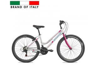 "Dviratis STUCCHI MTB LADY Bike, Wheel size 26 "", Warranty 24 month(s), White/Pink"