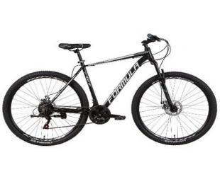 "Dviratis FORMULA 29"" REACTION AM DD, Frame 21"", Mountain Bike, Wheel size 29 "", Black/White"