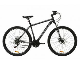 "Dviratis FORMULA 29"" REACTION AM DD, Frame 19"", Mountain Bike, Wheel size 29 "", Gray/Black"