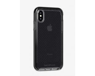 Dėklas Tech21 Evo Check T21-6169, Apple, iPhone X / Xs, Flexshock material, Smokey/Juoda