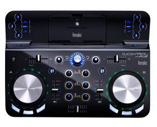 DJ pultas Hercules DJControl Wave M3, skirtas iPad