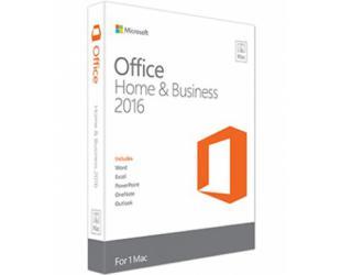 Programinė įranga MICROSOFT OFFICE 2016 H&B/ENG licencija, skirta MAC