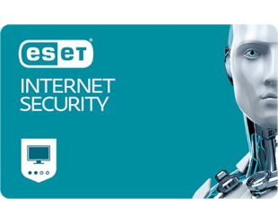 Antivirusinė programa Eset Internet security, 1 PC