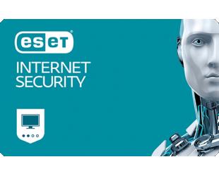 Antivirusinė programa Eset Internet security, 1 PC