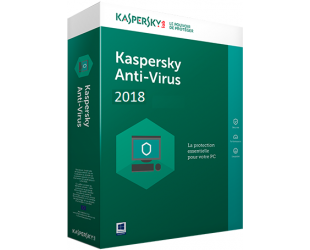 Antivirusinė programa Kaspersky Anti-Virus, 1 PC
