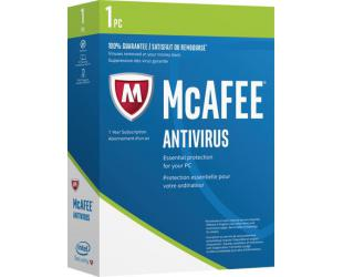 Antivirusinė programa McAfee Internet Security, 1 PC