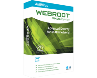 Antivirusinė programa Webroot Antivirus, 1 PC