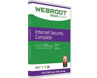 Antivirusinė programa Webroot Complete, 1 PC