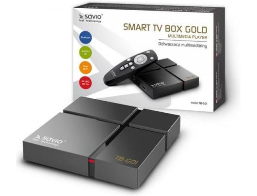 Android box Multimedijos grotuvas SAVIO Gold TB-G01
