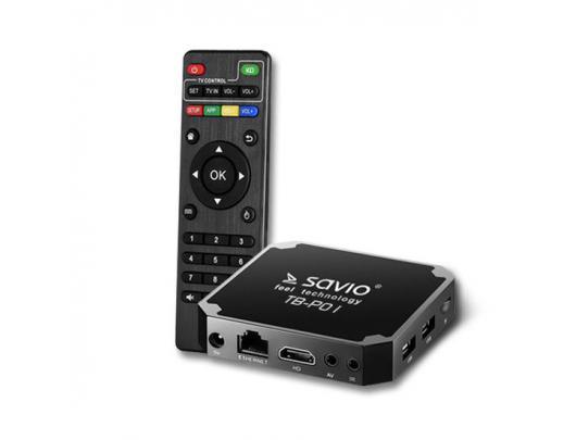 Android box multimedijos grotuvas SAVIO Premium One TB-P01