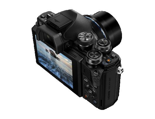 Fotoaparatas OLYMPUS E-M10II 1442EZ kit Pancake Zoom juodas
