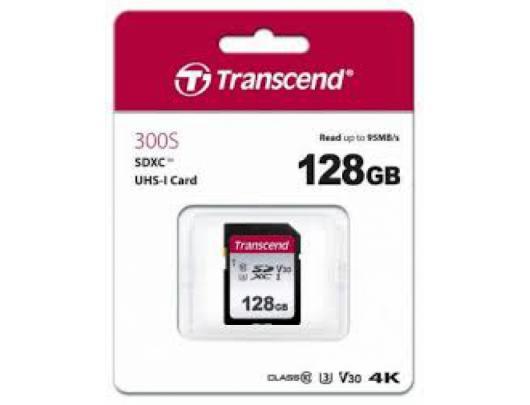 Atminties kortelė TRANSCEND SDXC, 128GB