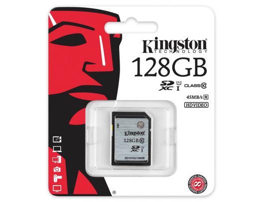 Atminties kortelė KINGSTON 128GB SDXC, UHS-I U1