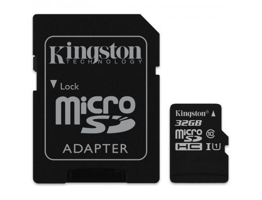Atminties kortelė KINGSTON 32GB microSDHC, UHS-I