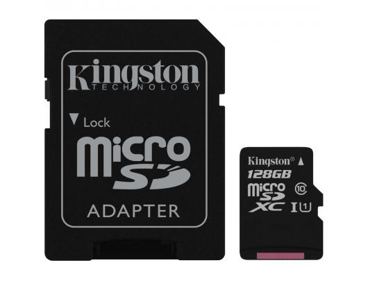 Atminties kortelė KINGSTON 128GB microSDXC, U1
