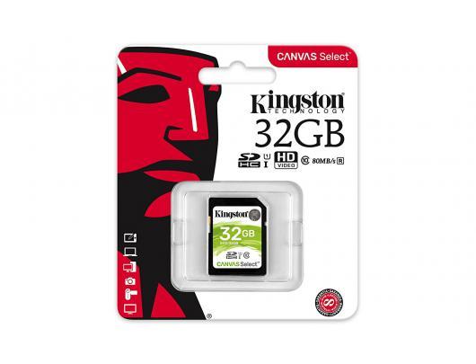 Atminties kortelė KINGSTON 32GB SDHC, UHS-I U1