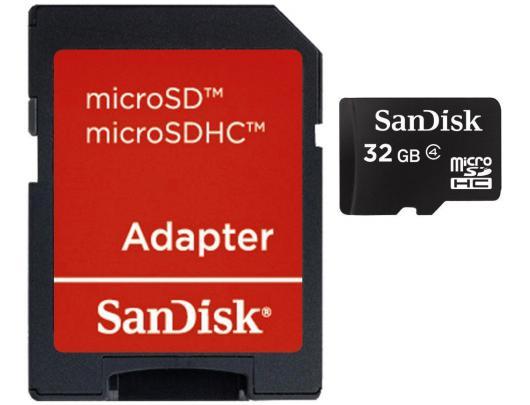Atminties kortelė SANDISK MicroSDHC 32GB