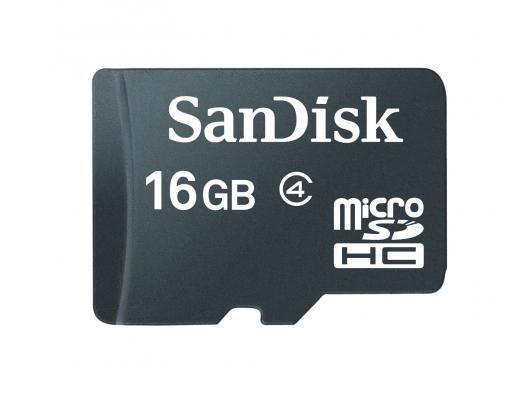 Atminties kortelė SANDISK MicroSDHC 16GB, cl4