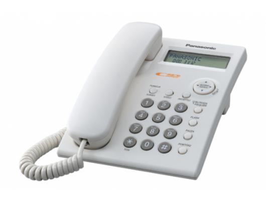 Telefono aparatas PANASONIC KX-TSC11FXW