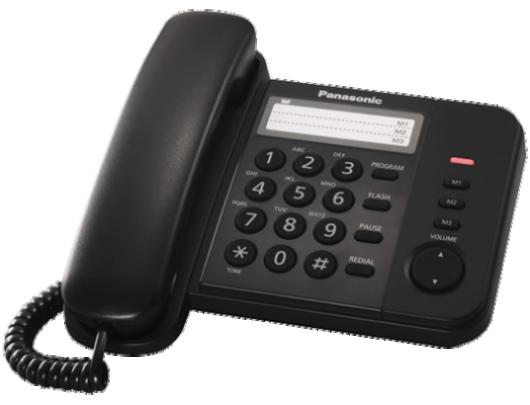 Telefonas PANASONIC KX-TS520FXB
