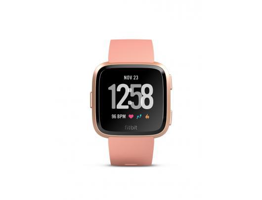 Išmanusis laikrodis Fitbit Versa (NFC), PeachRose Gold Aluminum