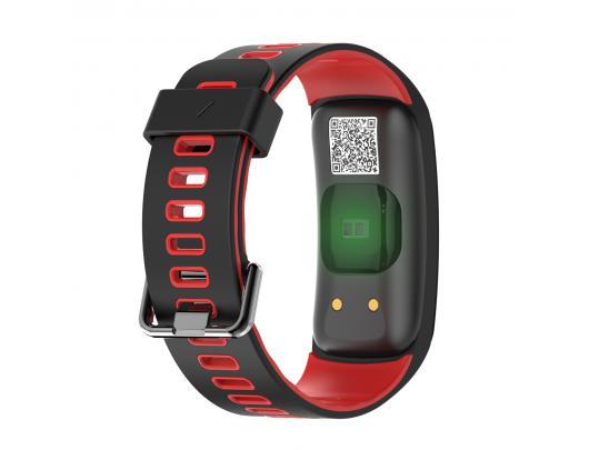 """Išmanusis laikrodis DT No.1 F4C 0.95"""" IP68, raudonas"""