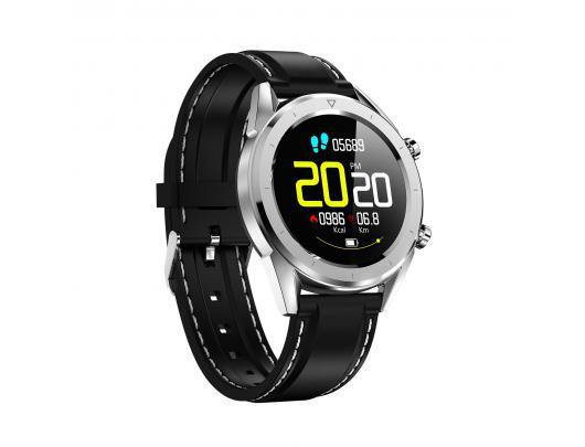 """Išmanusis laikrodis DT NO.1 DT28 1,54"""" IP68, su silikonine apyranke, pilkas"""