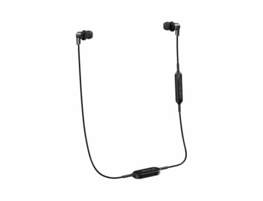 Ausinės Panasonic RP-NJ300BE-K įstatomos į ausis, belaidės, su mikrofonu