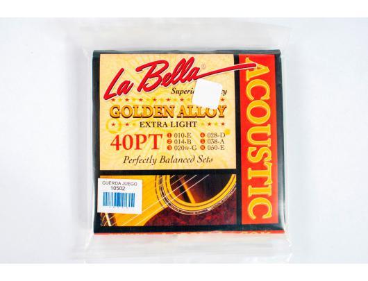 Gitaros stygos LA BELLA Acoustic 40PT
