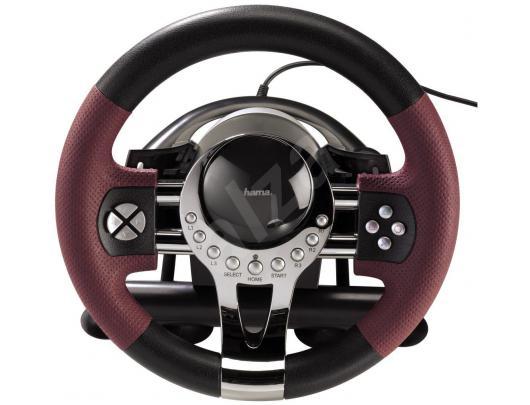 Žaidimų vairas HAMA Thunder V5, PC/PS3