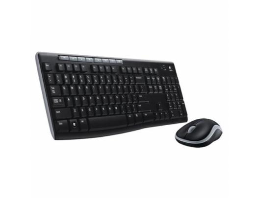 Belaidė klaviatūra+pelė LOGITECH MK270