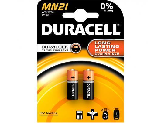Elementai DURACELL MN21/23A 12V, 2 vnt.