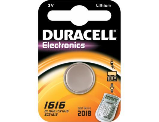 Elementas DURACELL CR1616 3V