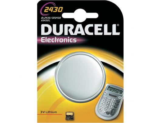 Elementas DURACELL CR2430 3V