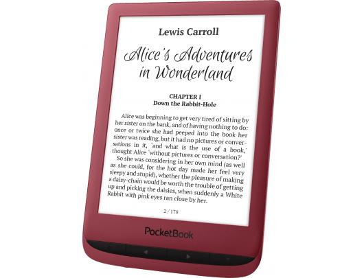 Skaityklė POCKETBOOK Touch Lux 5 6'' 8GB, raudona