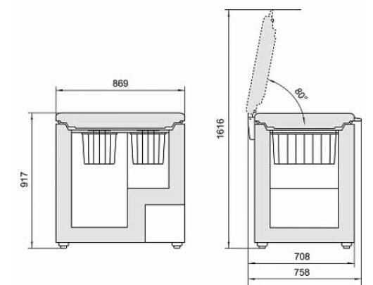 Šaldymo dėžė LIEBHERR GT 2632