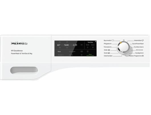 Skalbimo mašina MIELE  WEI 875 WPS PW TD WiFi Chrome Edition, 64 cm gylio