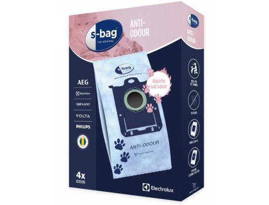 Dulkių siurblių maišeliai  ELECTROLUX E 203S s-bag HEPA Anti-Odour