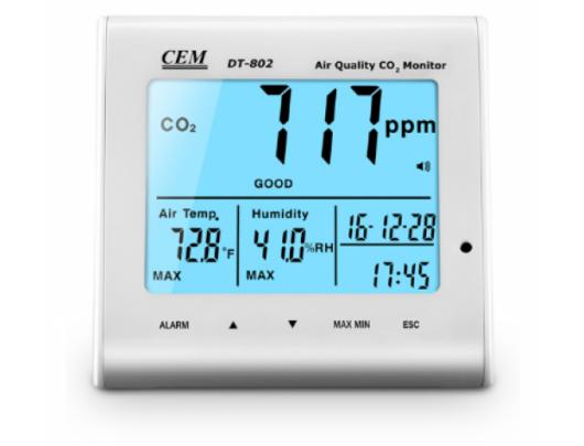 Oro kokybės matuoklis DT-802D