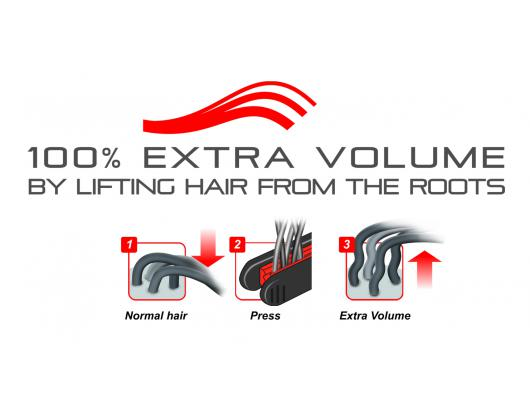 Žnyplės plaukams VALERA 647.01 Volumissima