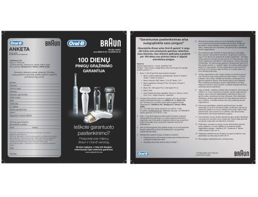 Kirpimo rinkinys BRAUN MGK7220 10in1 Wet&Dry, multi kirptuvas