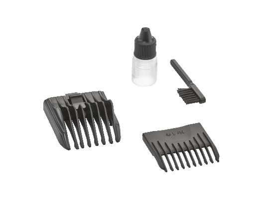 Plaukų kirpimo mašinėlė MOSER 1400-0457 Edition, juoda