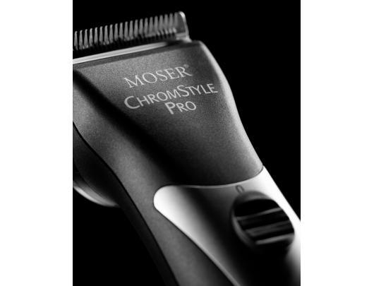 Plaukų kirpimo mašinėlė MOSER 1871-0081 ChromStylePro juoda